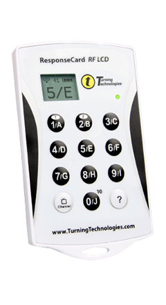 Uređaj za sistem za glasanje RespondCard RF LCD